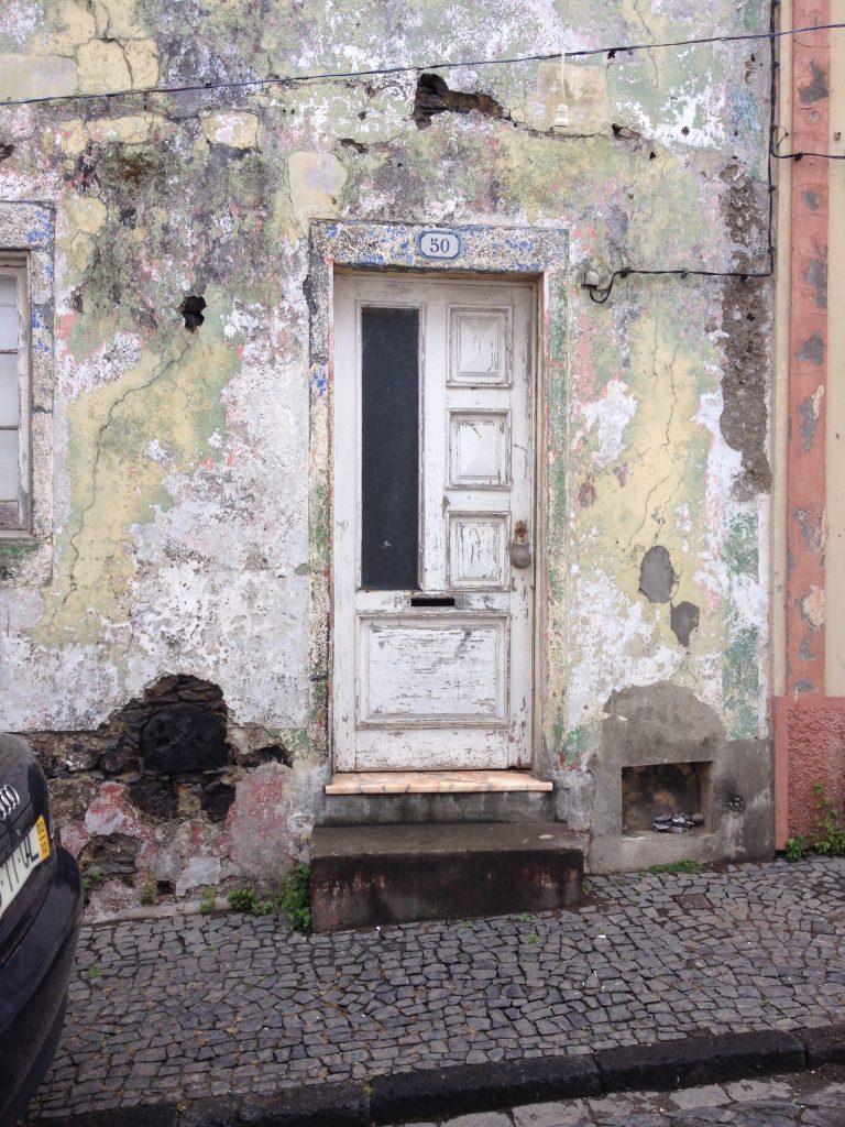 Referentie foto oude deur